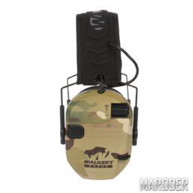 Активные наушники для стрельбы Walkers Razor Slim MultiCam