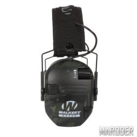 Активные наушники для стрельбы Walkers Razor Slim MultiCam Black