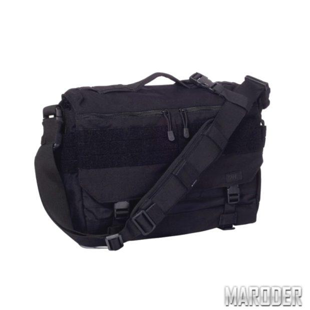 Сумка тактическая повседневная RUSH Delivery LIMA Black. 5.11 Tactical
