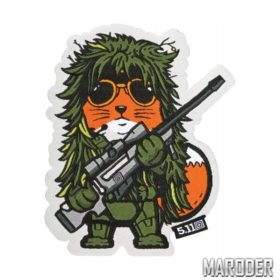 Нашивка TACTICAL FOX SNIPER PATCH. 5.11 Tactical