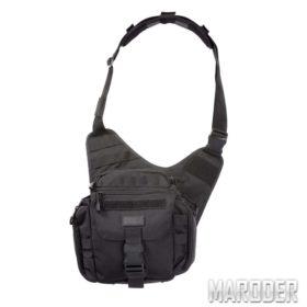 Тактическая плечевая сумка с кобурой PUSH Pack Black. 5.11 Tactical