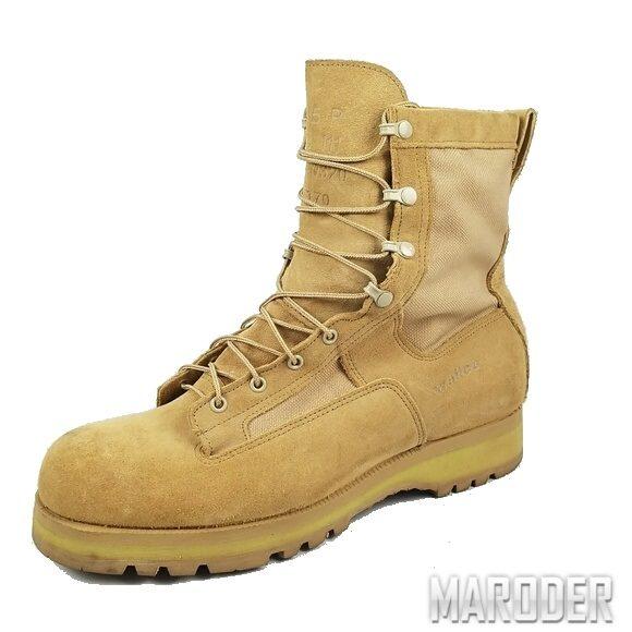Ботинки Army Combat Boots Desert Tan. Wellco