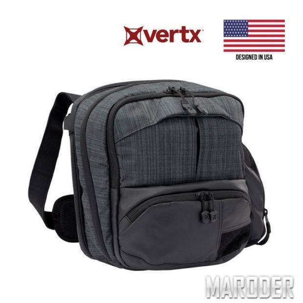 Сумка для скрытого ношения оружия Vertx Essential Bag Heather Black