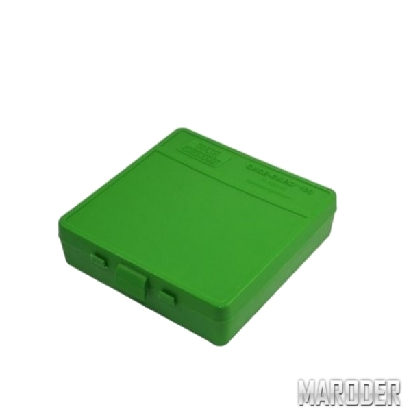Коробка для патронов 9мм, 380 ACP Зеленая
