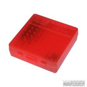 Коробка для патронов 9мм, 380 ACP Красная
