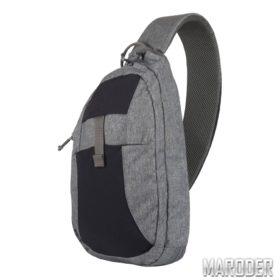 Однолямочный рюкзак для оружия EDC Sling Black-Grey Melange