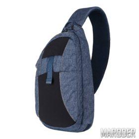 Однолямочный рюкзак для оружия EDC Sling Blue Melange