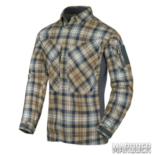 Рубашка MBDU Flannel Ginger Plaid