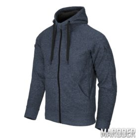 Куртка Covert Tactical Hoodie FullZip Melange Blue
