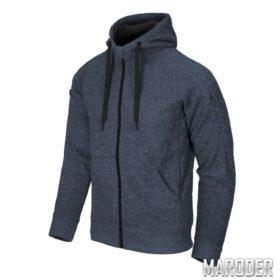 Куртка Covert Tactical Hoodie FullZip Melange Blue