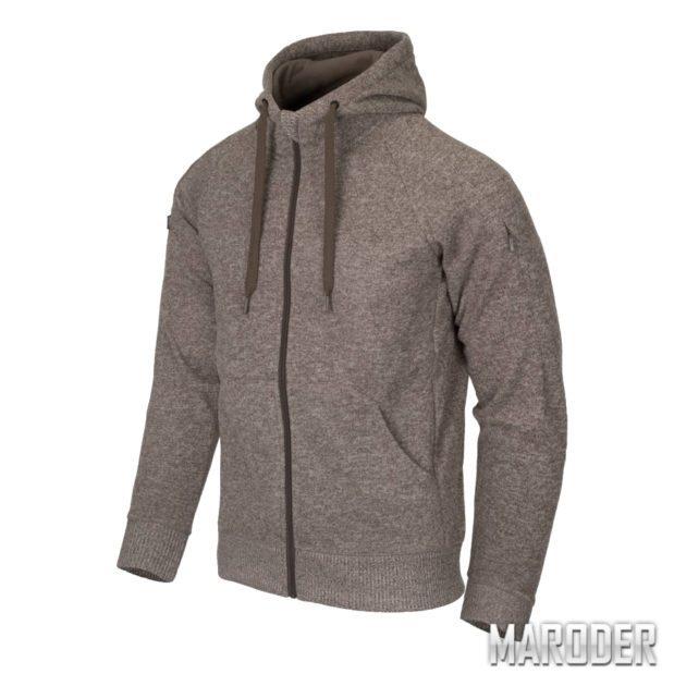 Куртка Covert Tactical Hoodie FullZip Melange Light Tan