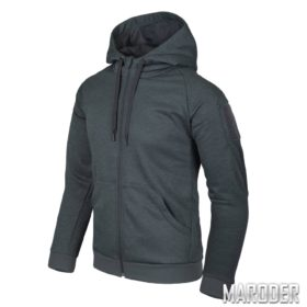 Куртка Urban Tactical Hoodie FullZip Black-Grey Melange