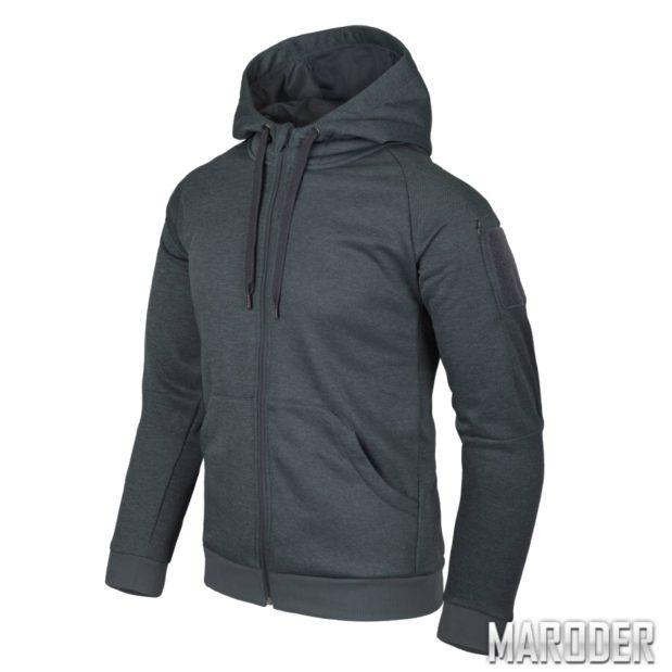 Куртка Urban Tactical Hoodie FullZip Black-Grey Melange