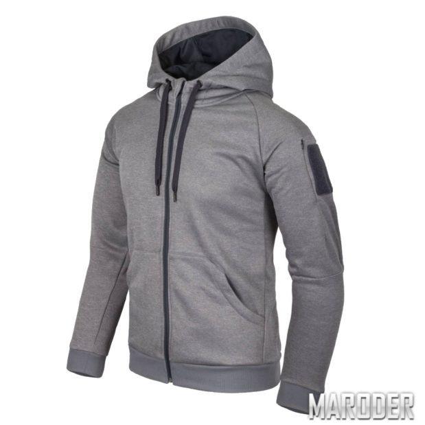 Куртка Urban Tactical Hoodie FullZip Grey Melange