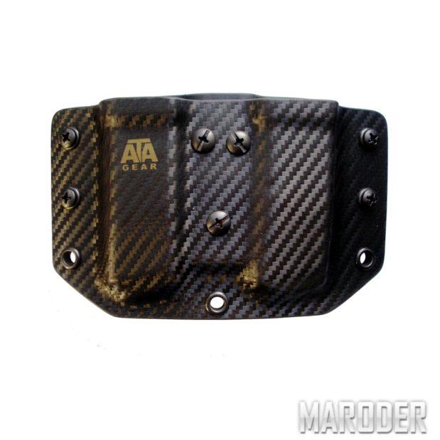 Паучер DOUBLE POUCH Carbon Black ATA Gear