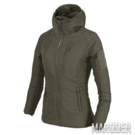 Женская куртка Wolfhound Hoodie Taiga Green