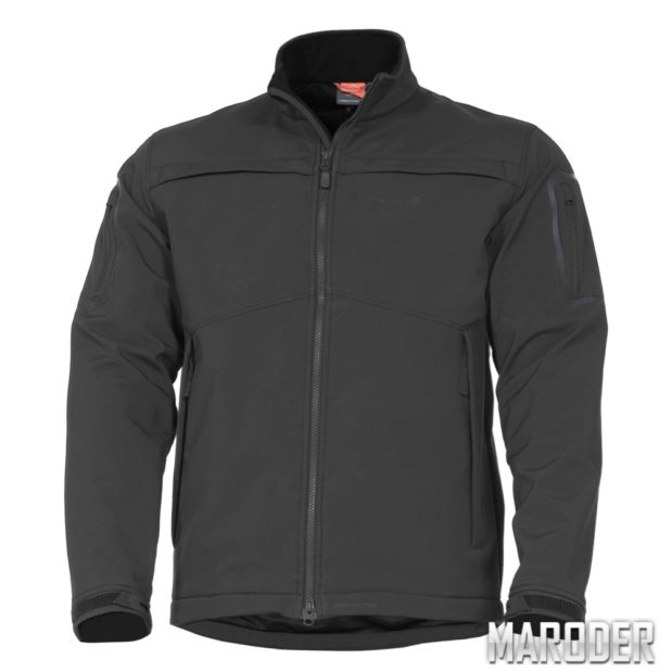 Тактическая куртка Kryvo Black. Soft Shell. Pentagon