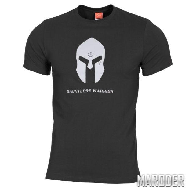 Футболка Ageron T-Shirt Spartan Helmet Black. Pentagon