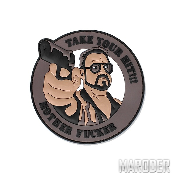 Морал патч Take Your Hit!!! 101 Inc.