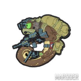 Морал патч Chameleon Operator Khaki. Helikon-Tex