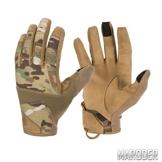 Перчатки Range Tactical Hard MultiCam