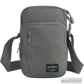 Сумка через плече Kleos Messenger Wolf Grey. Pentagon