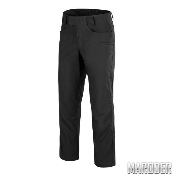 Тактические брюки Greyman Tactical Black. DuraCanvas. Helikon-Tex