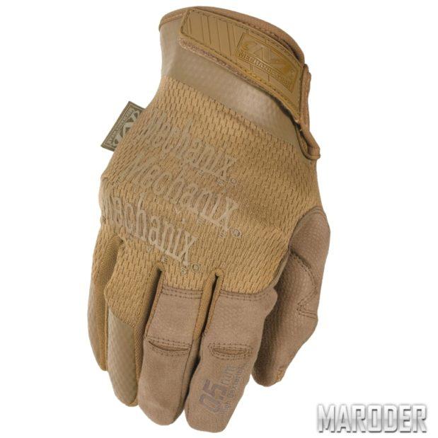 Тактические перчатки Specialty 0.5 High-Dexterity Coyote Mechanix Wear