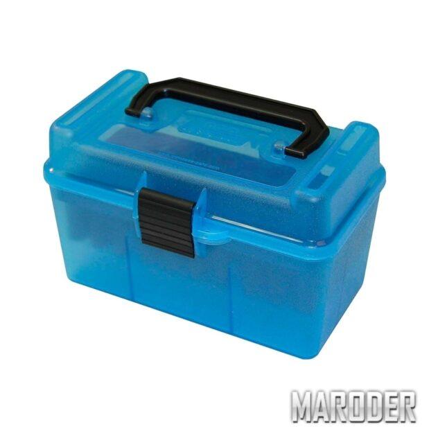 Коробка MTM H50-RS на 50 патронов .222 и .223 Rem.