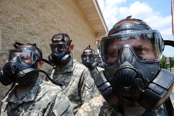 противогаз для защиты от вирусов и биологического оружия