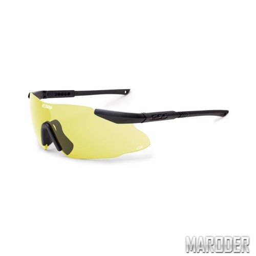Очки защитные ESS ICE High-Vis Yellow 1ls Kit