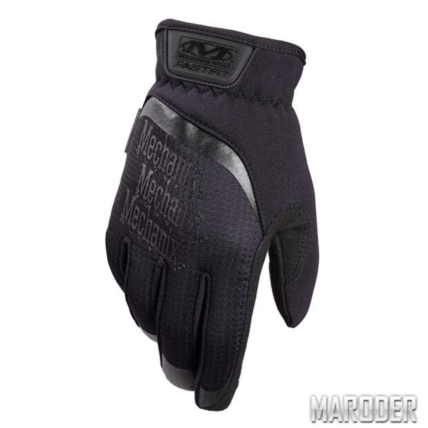 Тактические перчатки FastFit Black. Mechanix Wear