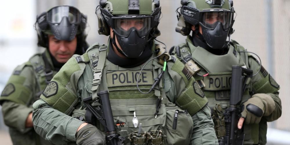 американский бронежилет полиции