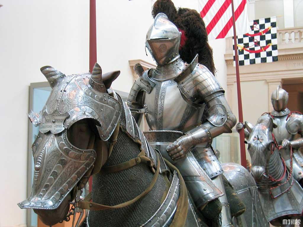 бронежилет и рыцари