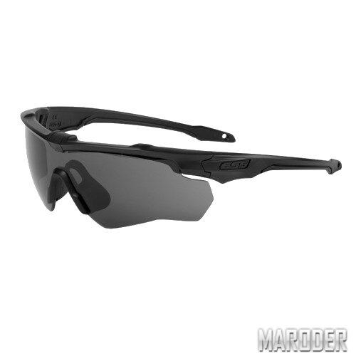 Очки защитные ESS CrossBlade 2LS. Smoke Gray