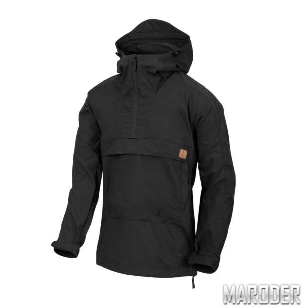 Анорак Woodsman Anorak Jacket Black. Helikon-Tex