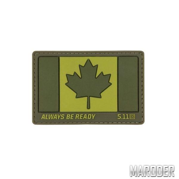 Нашивка Canada Flag Patch. 5.11 Tactical