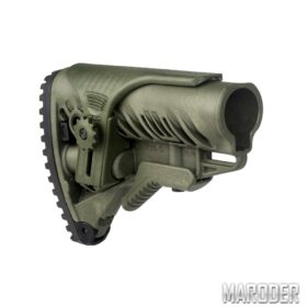 Приклад FAB Defense GLR-16 CP Олива для AR15/M16