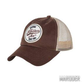Бейсболка Trucker Logo Mud Brown. Helikon-Tex
