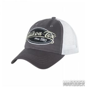 Бейсболка Trucker Logo Shadow Grey. Helikon-Tex