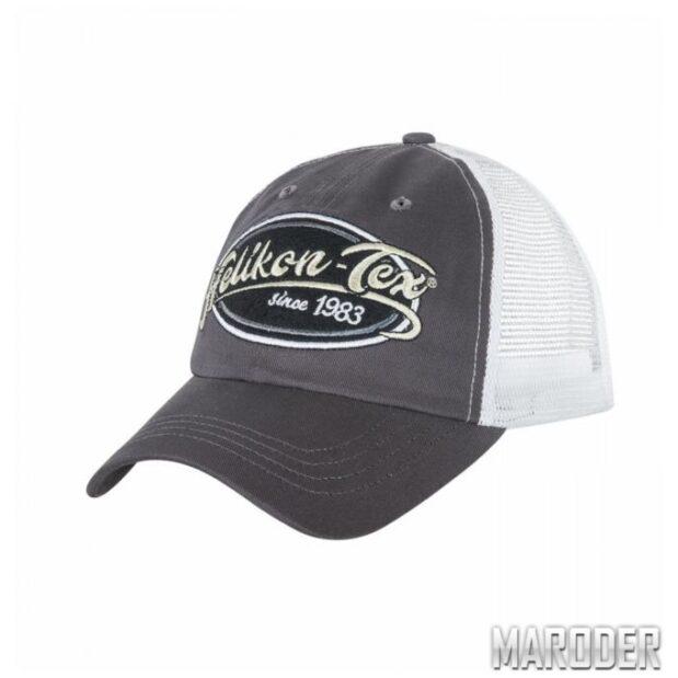 Бейсболка Trucker Logo Shadow Grey. Helikon-Tex