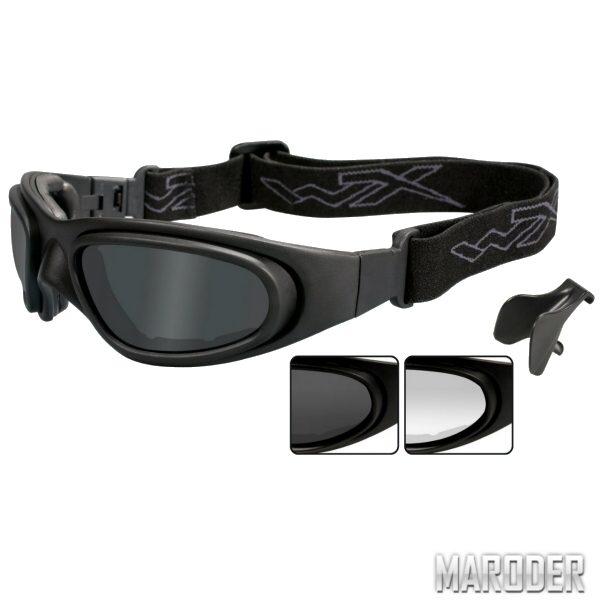 Тактические очки-маска Wiley X SG-1. Black