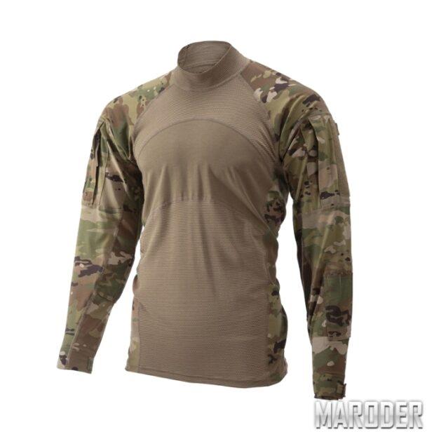 Боевая рубашка огнеупорная Massif Army Combat Shirt (FR) Multicam