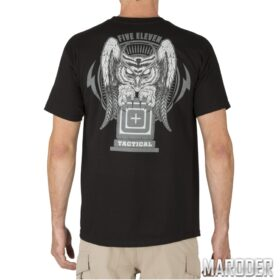 Футболка Owl Logo Black. 5.11 Tactical