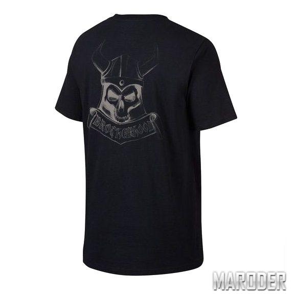 Футболка Brotherhood Skull Black. Oakley