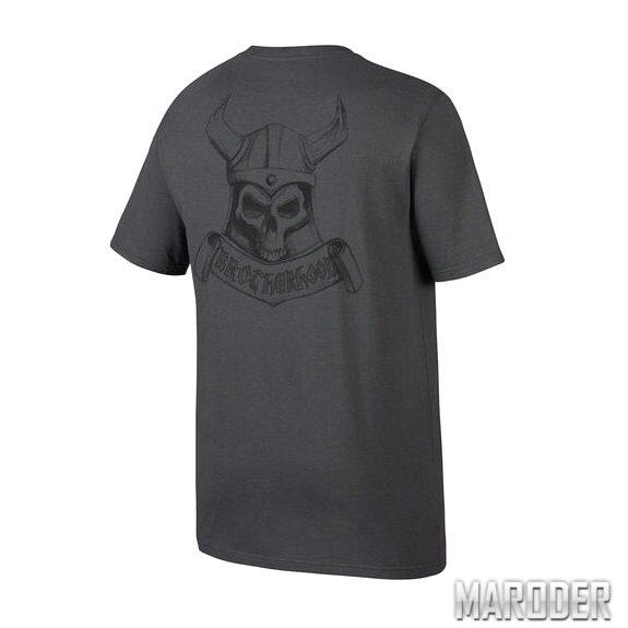 Футболка Brotherhood Skull Grey. Oakley