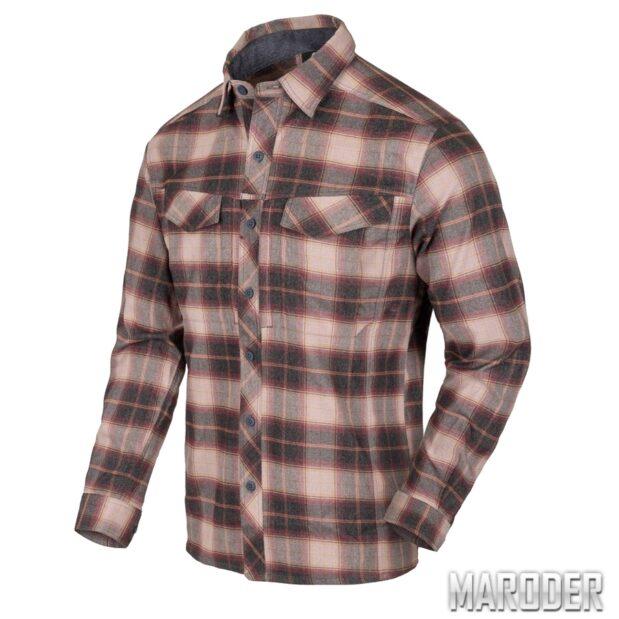 Рубашка DEFENDER MK2 PILGRIM Rust Plaid. Helikon-Tex