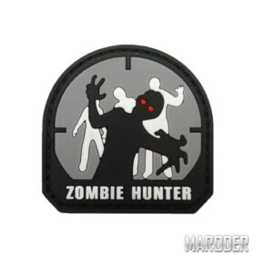 Морал патч Zombie Hunter Grey