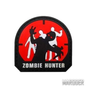Морал патч Zombie Hunter Red