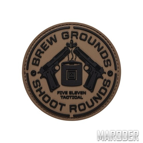 Нашивка Brew Grounds Patch. 5.11 Tactical